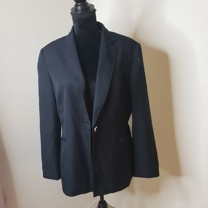 Navy single button Blazer